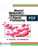 (1993) A. Cichocki and R. Unbehauen. Neural Networks for Optimization and Signal Processing.pdf