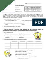 dihybrid cross worksheets