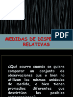 Medias de Dispersion Relativas