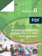 Modulo II Pedagogico Pela 2017
