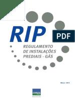 RIP - Regulamento de Instalações Prediais - Comgás