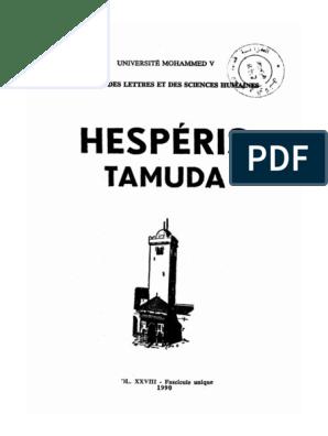 GRATUITEMENT TÉLÉCHARGER HESPERIS TAMUDA
