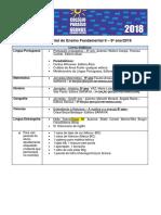 Lista de Material Colégio Paraíso 2018 - 9º Ano (Fundamental 2)