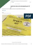 Enem 2017_ Divulgação Das Notas Será Antecipada Para 18 de Janeiro, Diz Inep _ Educação _ G1