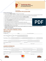 Equity WtF Application Form 2018