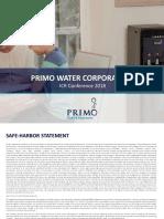 Prmw Ir Presentation - Icr 2018