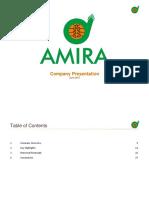 ANFI Amira Company Presentation June 27 2017