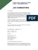 Analise Combinatoria III