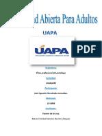 Etica Profesional Del Psicologo Tarea#2