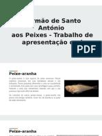 Sermão de Stº. António Aos Peixes (1)