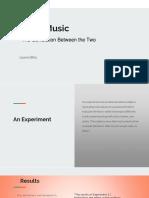 food   music - presentation