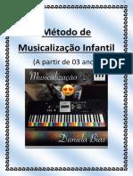 Musicalização Infantil Daniela Bias