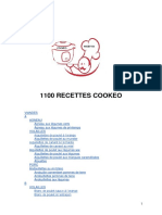 1100 RECETTES COOKEO