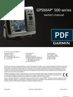 GPSMAP 500 Series