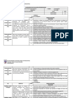 Calendario de Evaluaciones Programadas Tecnologia Quinto Basico