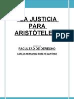La Justicia Aristoteles