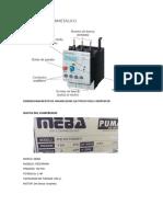 Dimensionamiento de Arrancador Electrico Para Compresor
