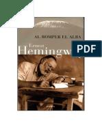 1952-Hemingway, Ernest - Al Romper El Alba