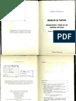 Panebianco-Modelos de Partido (1)