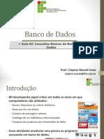 Conceitos Básicos de Banco de Dados Parte 2