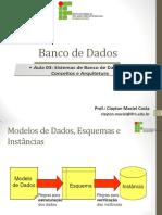 Sistemas de Banco de Dados Conceitos e Arquitetura