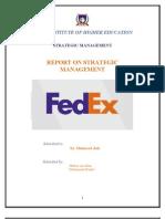 Fedex- The Strategic Audit