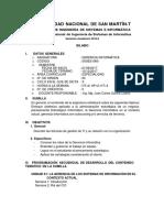 Gerencia Informatica 2017-II
