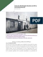 A 41 Años de Los Sucesos de Calle Alvarado