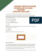 Letra218 Ecuador