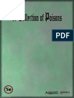 A Collection of Poisons DnD 5E