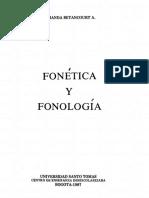 Betancourt Fonética y Fonología