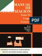 Manual de Climatizacion Tomo II Cargas Termicas