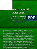 3a - Structura Actiunii Educationale