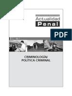 009-JUN15- CRIMINOLOGÍA