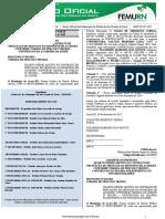 Diário oficial dos municípios RN