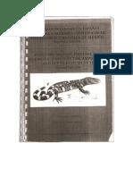 Nombres de anfibios y reptiles de Mexico