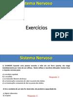Sistema Nervoso - Exercícios