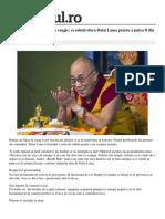 Ce Solutii Ofera Dalai Lama Pentru a Putea Fi Din Nou Plin de Viata