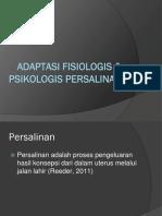 99624_Adaptasi Fisiologis & Psikologis Persalina Fix
