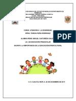 Escrito Importancia de La Educacion Intercultural, IRENE ABIGAIL CASTAÑEDA GALICIA
