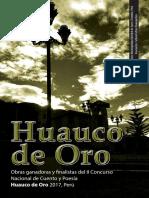 Premio Huauco de Oro - 2017