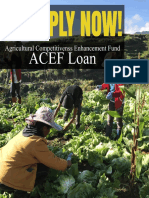 Agricultural Competitiveness Enhancement Loan DAR