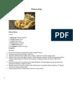 resep makanan ekskul tabog.docx