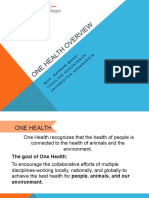 Materi 1. One Health and OHLN Overview