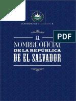 El Nombre de El Salvador
