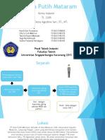 PT Gula Putih Mataram (Revisi)