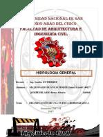1 INFORME Cuenca Hidrografica