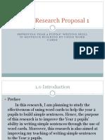 AR Proposal