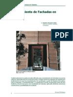 fachadas madera