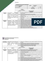 Calendario de Evaluaciones Programadas Musica Octavo Basico
